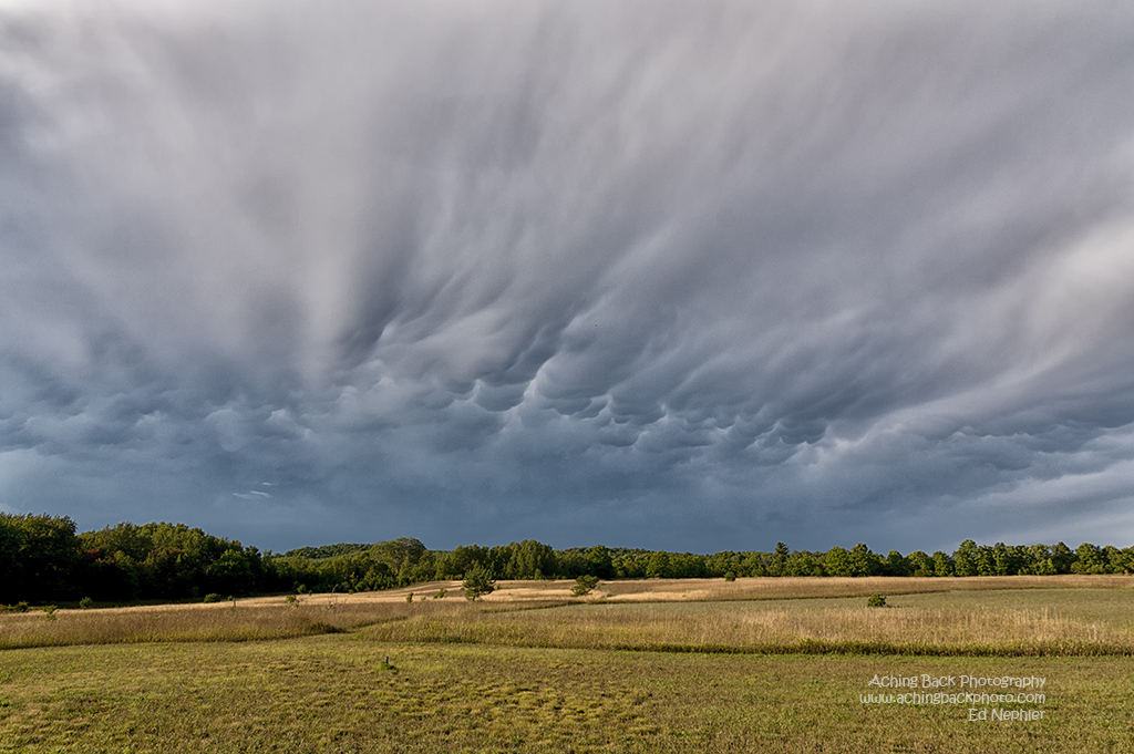 Something wicked this way comes - Mammatus Clouds