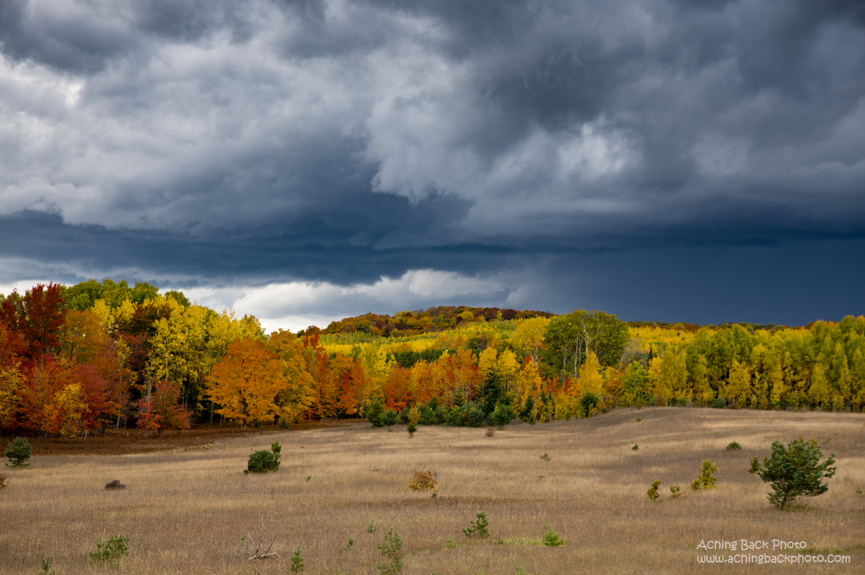 Stormy Skies and Autumn Colors